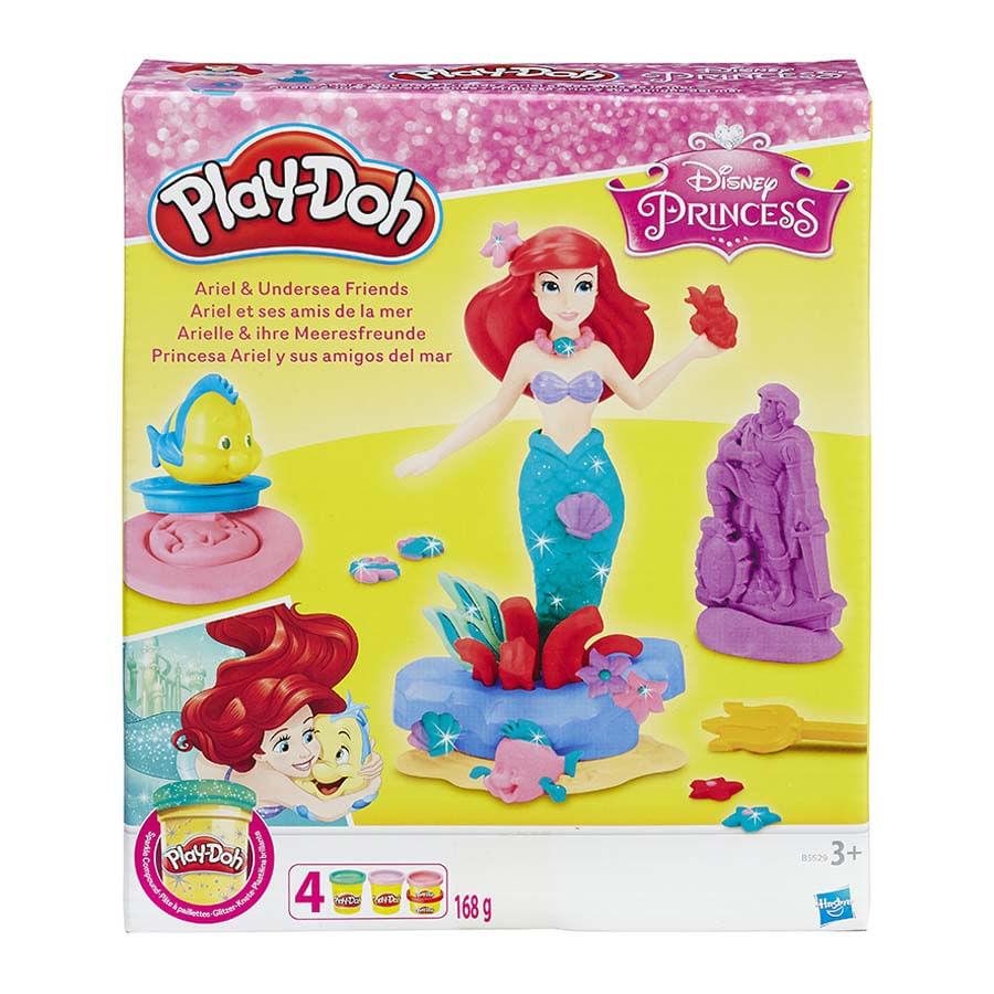 Masa-Modeladora-Play-Doh--Disney-Ariel-Set