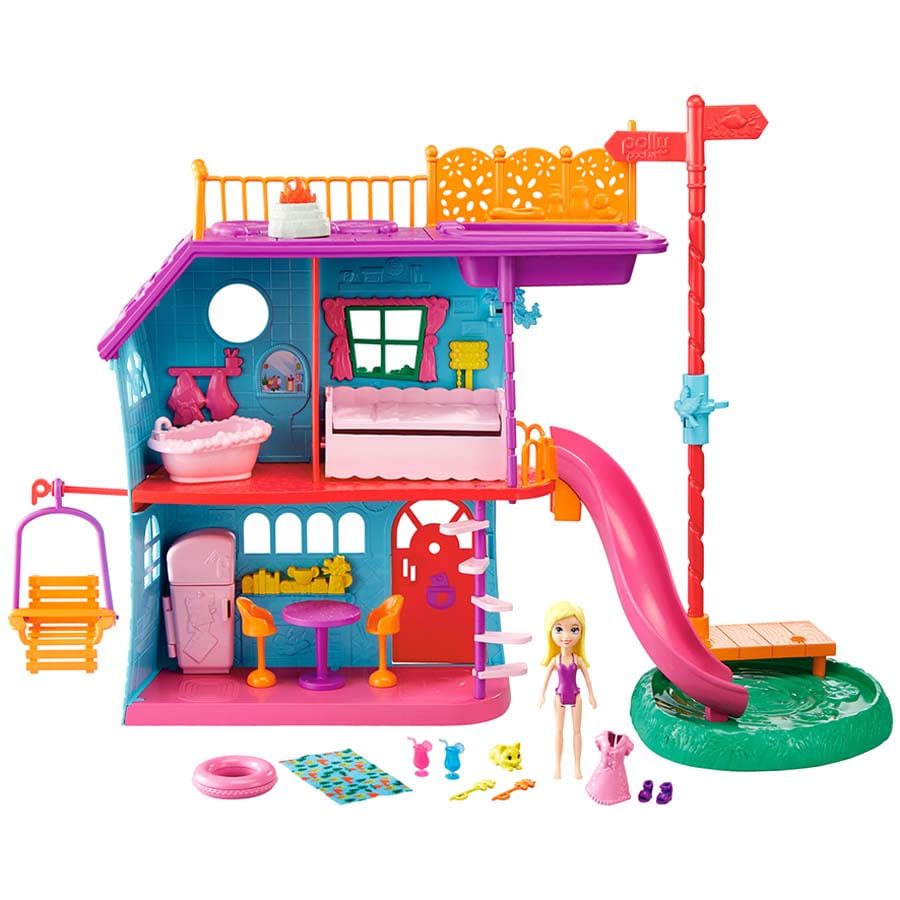 Polly-Pocket-Casa-De-Vacaciones