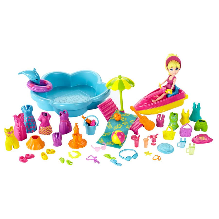 Polly-Pocket-Dia-Moda-Playa