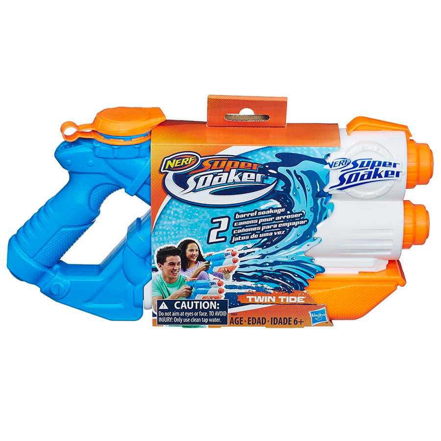 Lanzador-Nerf-Supersoaker-Twin-Tide