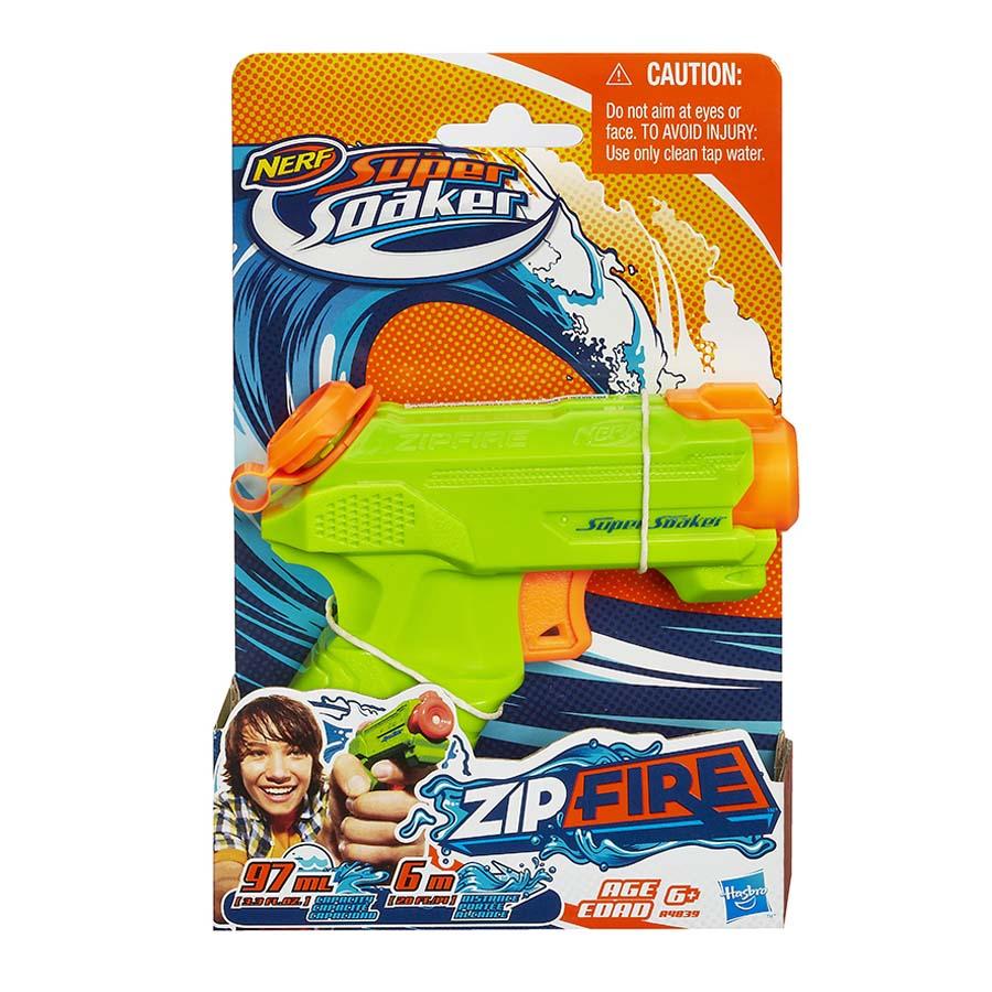 Lanzador-Agua-Nerf-Supersoaker-Zipfire