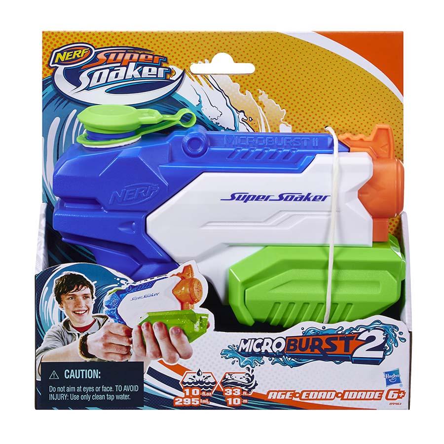 Lanzador-Agua-Nerf-Supersoaker-Microburst