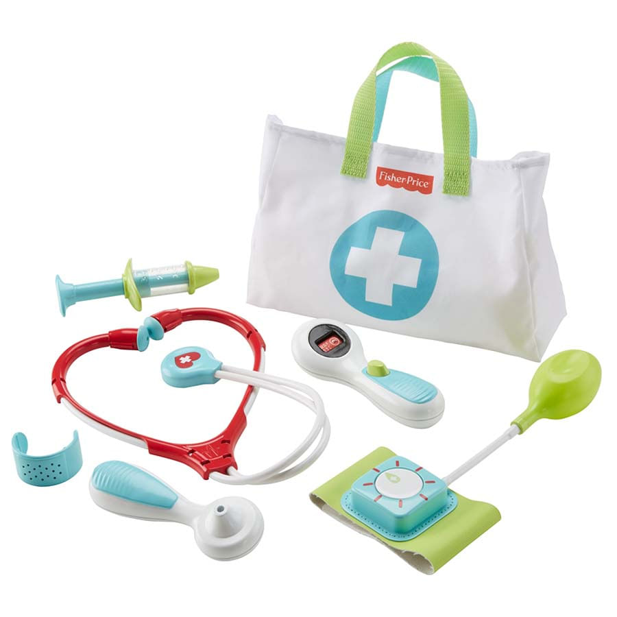 Fisher-Price--Estuche-Medico