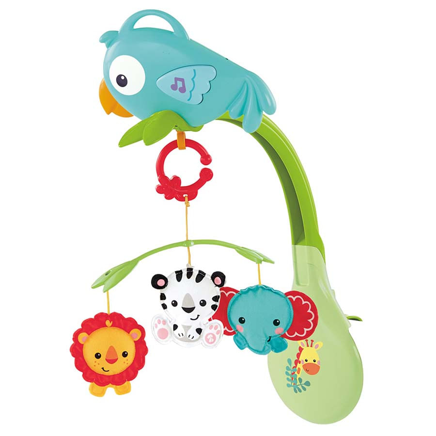 Fisher-Price--Movil-3-En-1--Amigos-De-La-Naturaleza