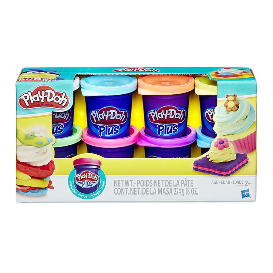 Play-Doh-Plus-Pack-De-Colores-X-8
