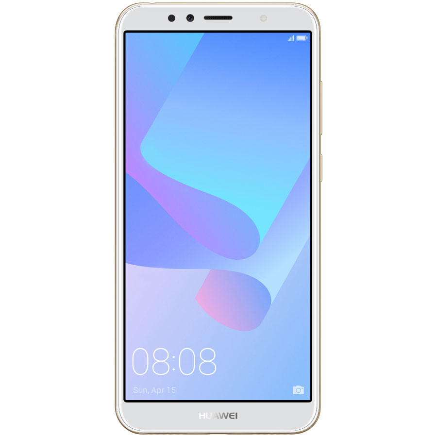 Celular-HUAWEI-Y6-2018---57----16GB----Dorado