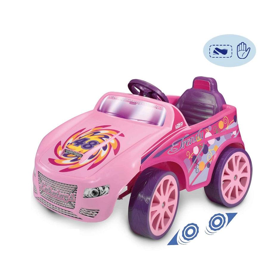 Carro-Electrico-Niña-Pink