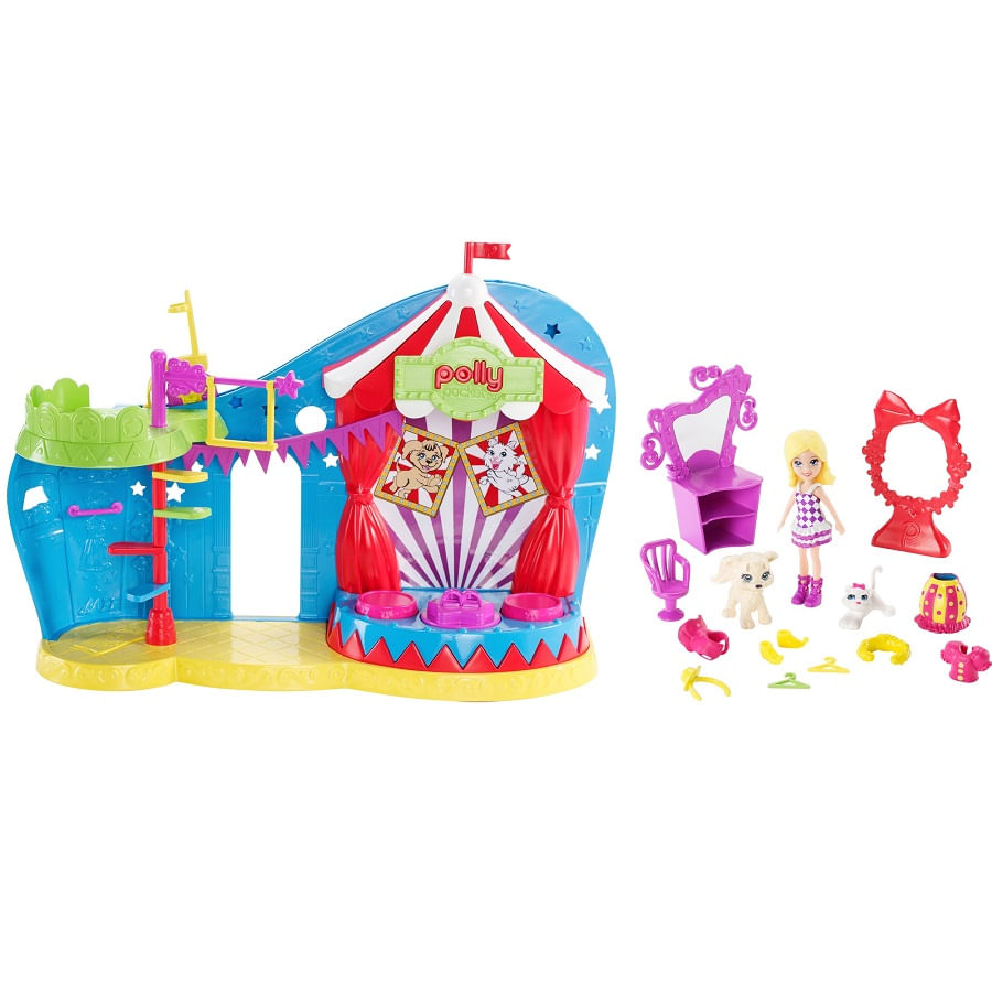 Polly-Pocket-Circo-De-Mascotas
