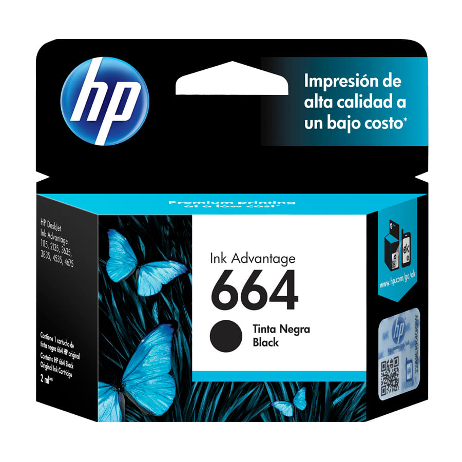 Cartucho-de-Tinta-HP-664-Negro-2ml