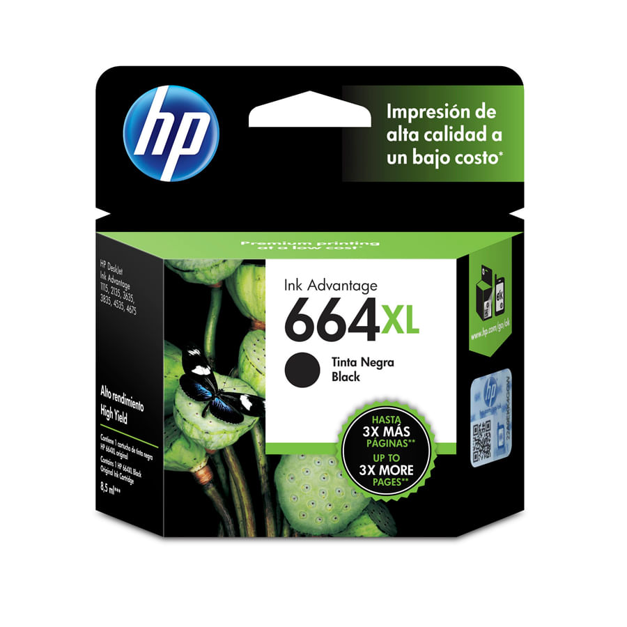 Cartucho-de-Tinta-HP-664XL-Negro-85ml