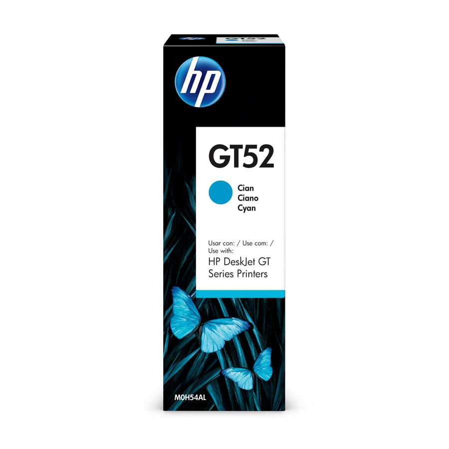 Botella-de-Tinta-HP-GT52-Cian-70ml