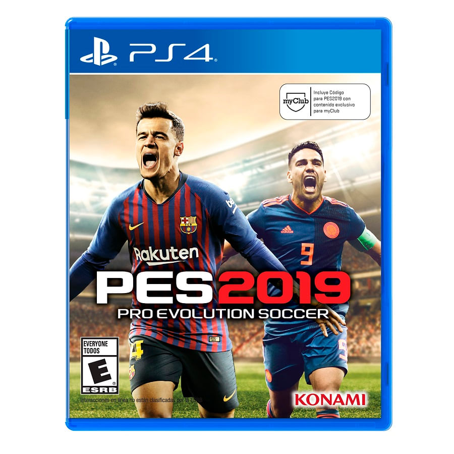 Juego-PS4-PRO---Evolution-Soccer-2019--LATAM