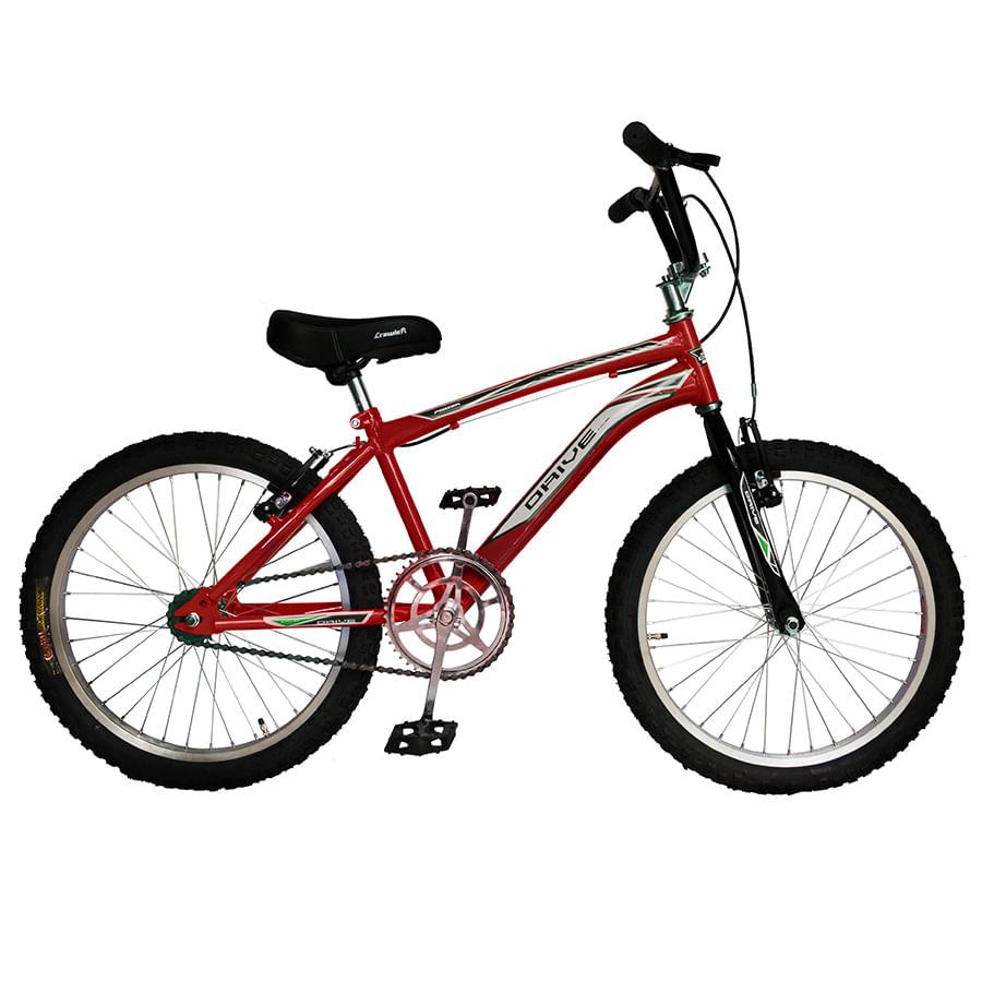 Bicicleta-DRIVE---Acero---20--BMX---Roja