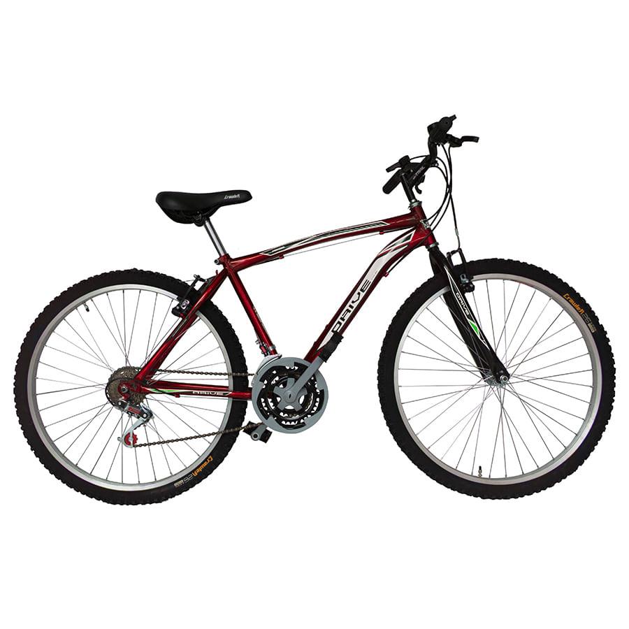 Bicicleta-DRIVE---Acero---18-Vel---Hombre-26----Rojo
