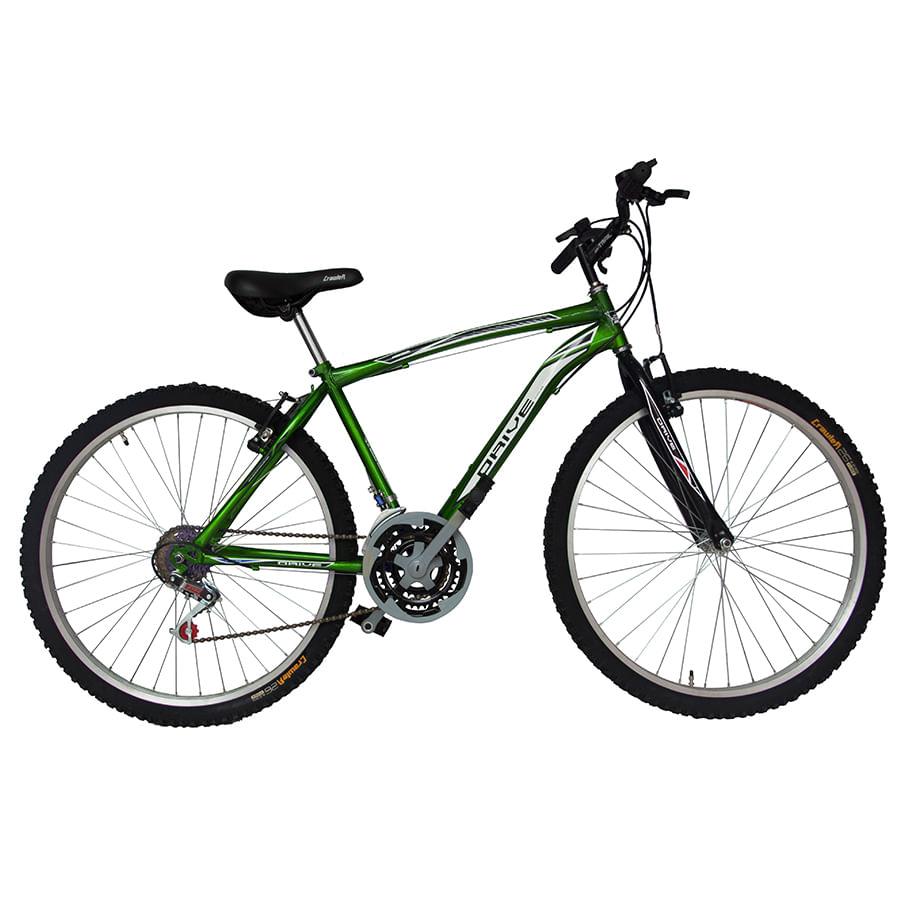 Bicicleta-DRIVE---Acero---18-Vel----Hombre-26----Verde