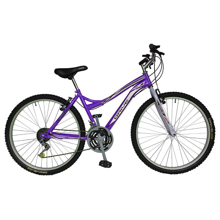 Bicicleta-DRIVE---Acero---18Vel----Dama-26--Uva