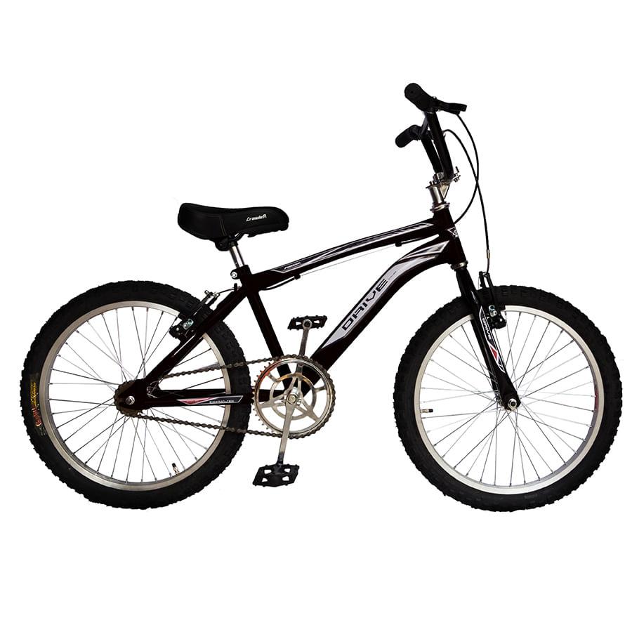 Bicicleta-DRIVE---Acero---20--BMX---Negro