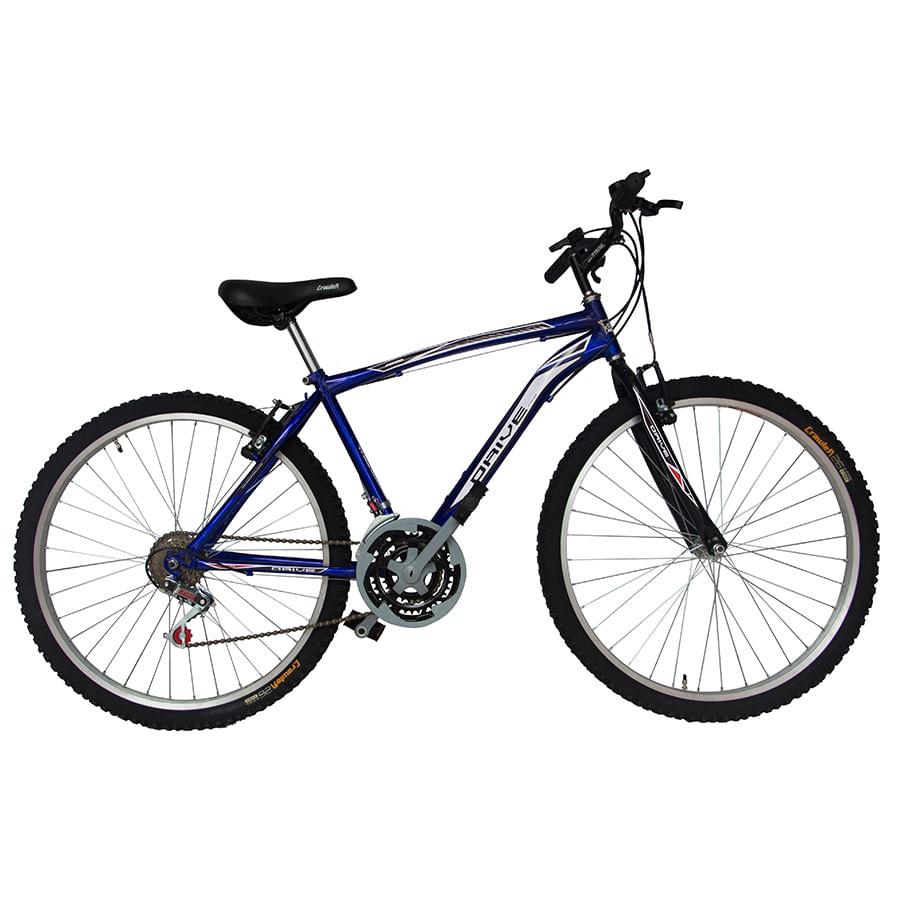 Bicicleta-DRIVE---Acero---18-Vel----Hombre-26----Azul