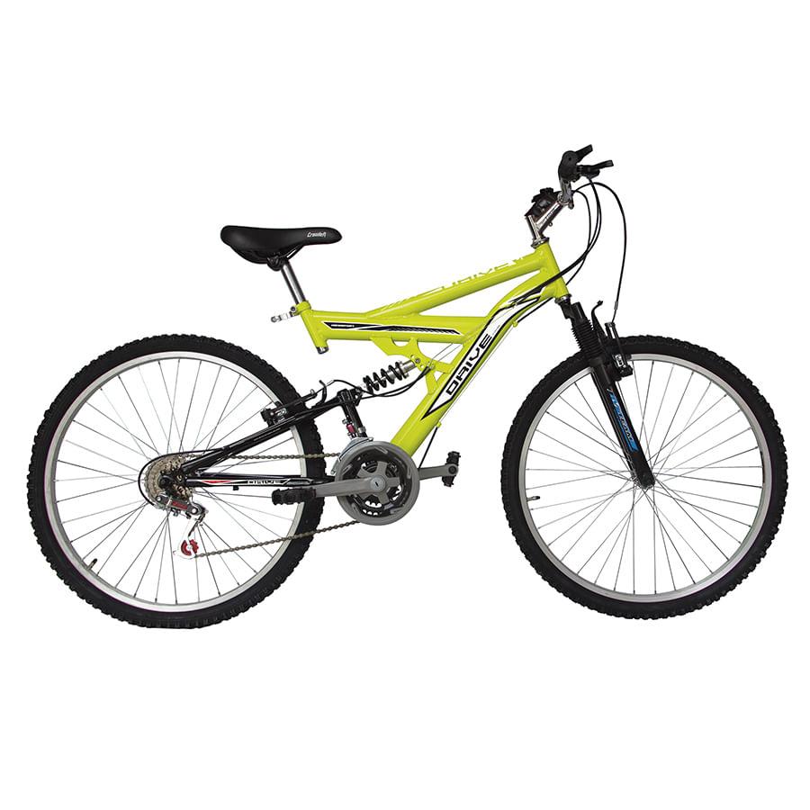 Bicicleta-DRIVE---Doble-suspension---18-Vel---26--Neon