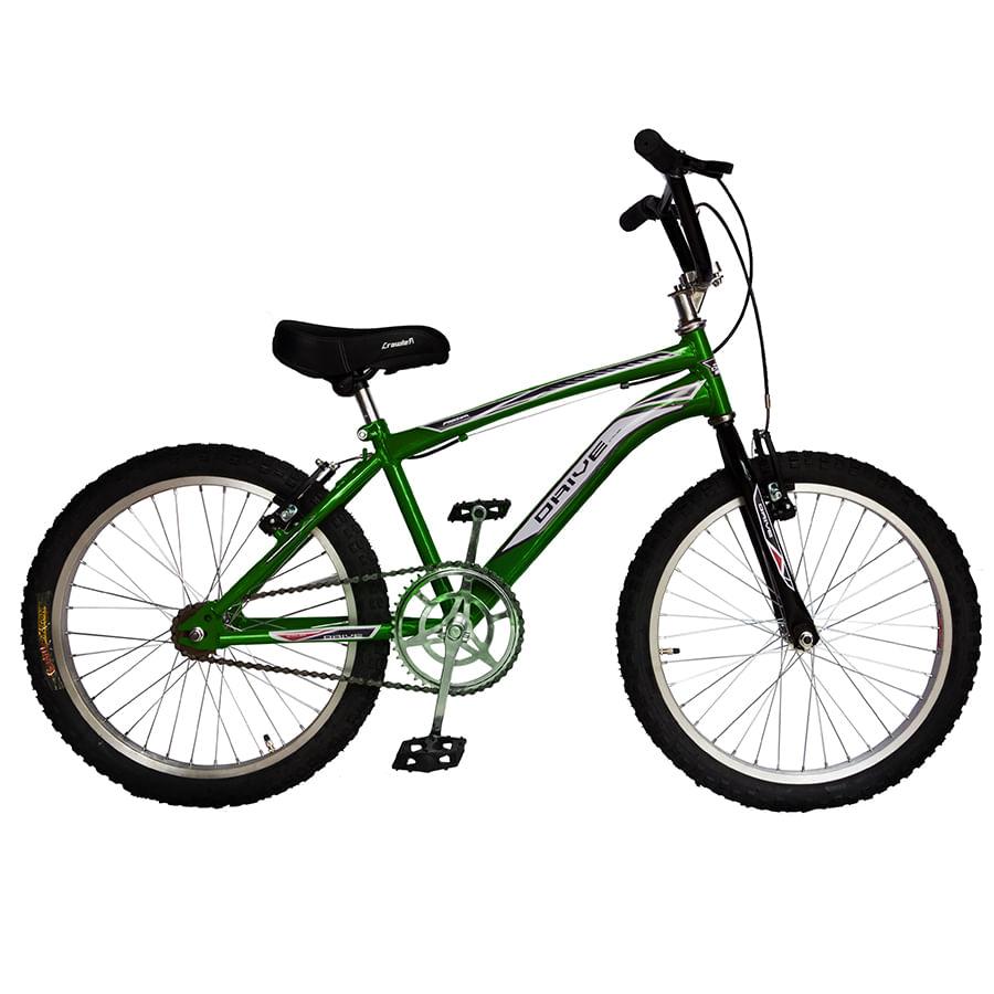 Bicicleta-DRIVE---Acero---20--BMX---Verde