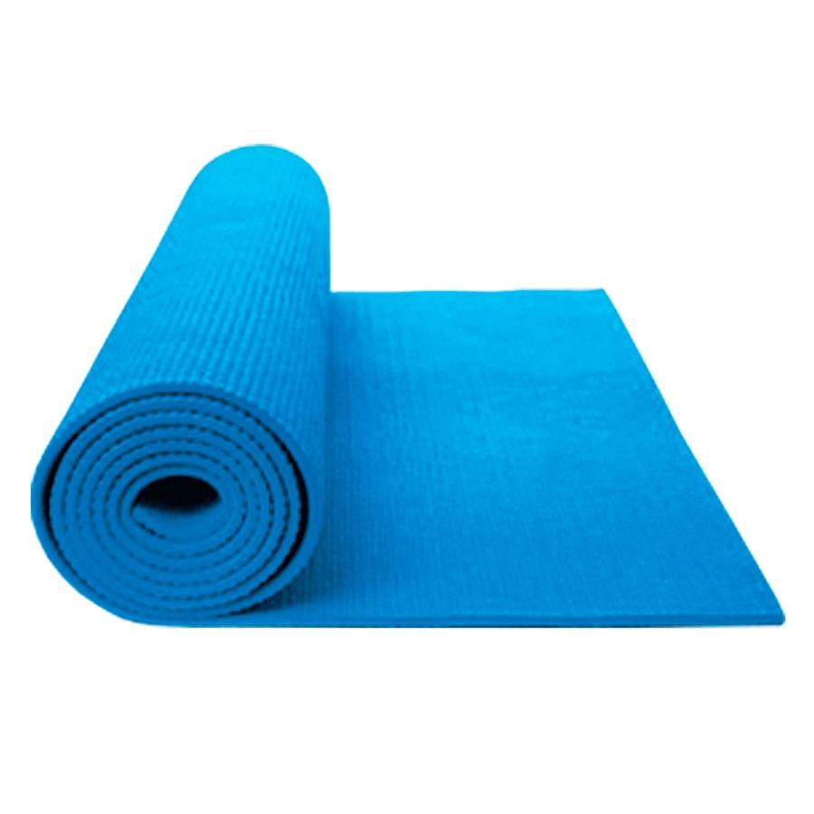 Colchoneta-Mat-Yoga---K6---Pilates-Tapete-Gimnasio-3mm---Azul-Claro