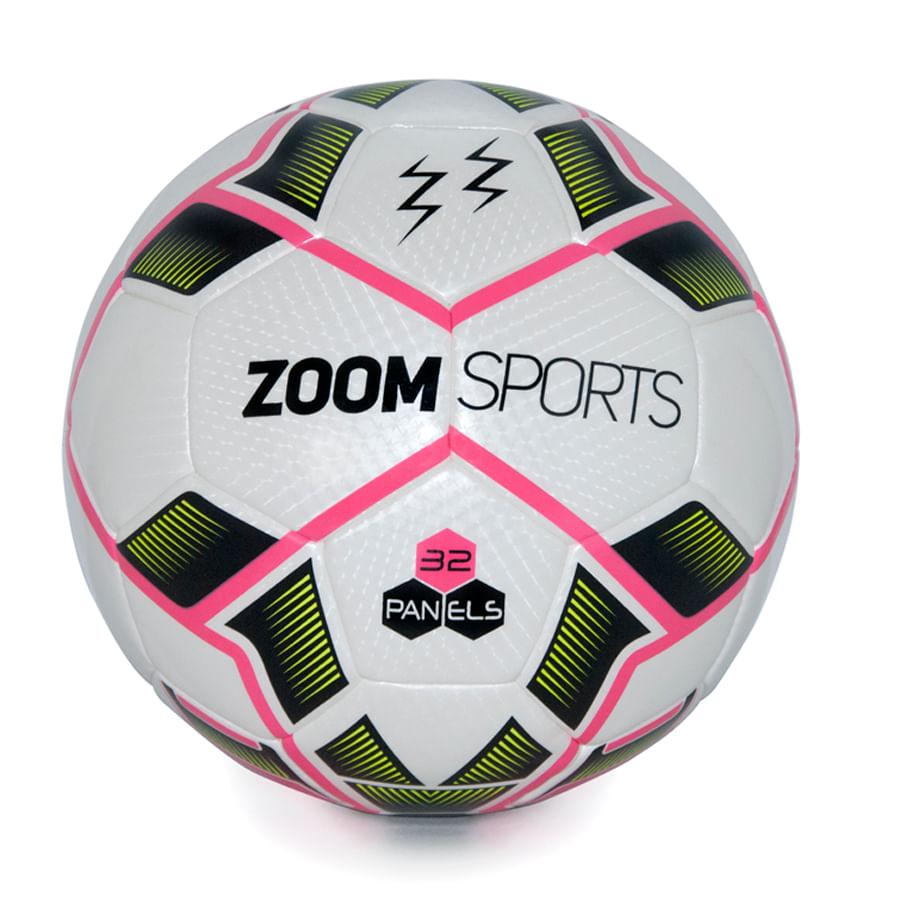 Balon-Futbol--ZOOM---Profesional-Hibrido---Rosado