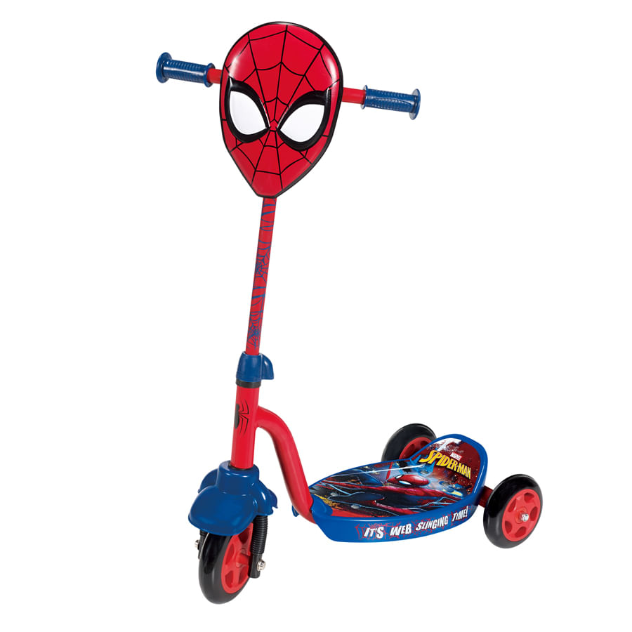 Patineta-ZOOM---Tri-Scooter-Spiderman