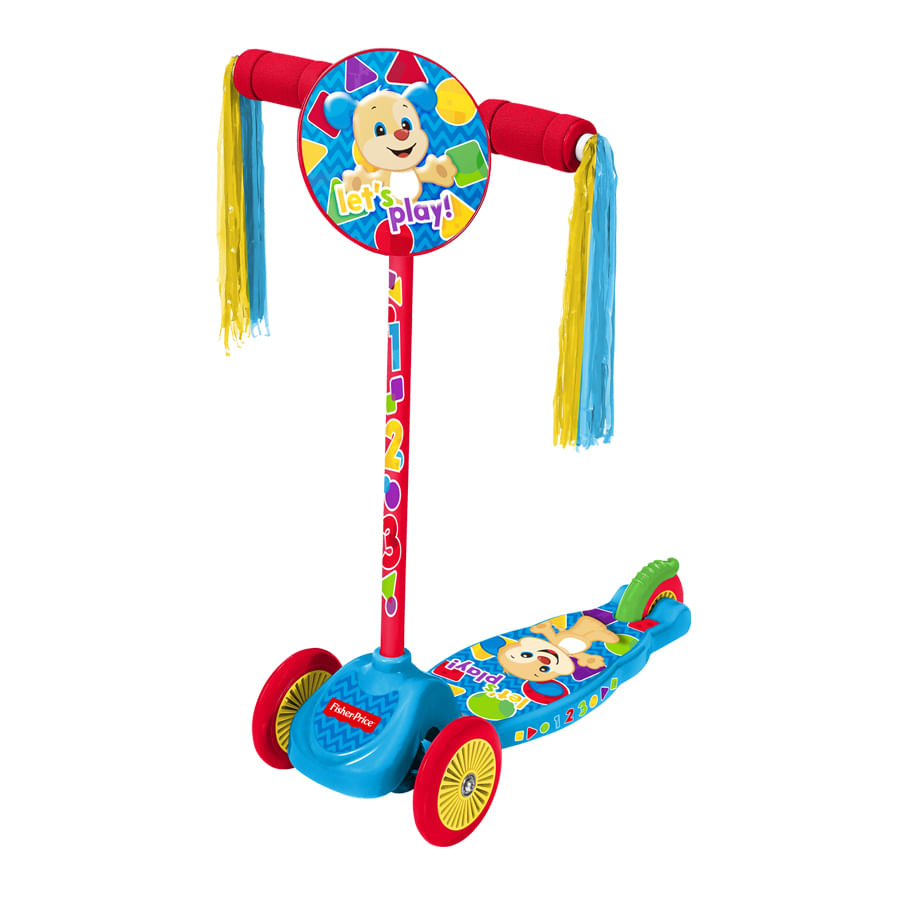 Patienta-Scooter-ZOOM---Junior---Casco-Fisher-Price
