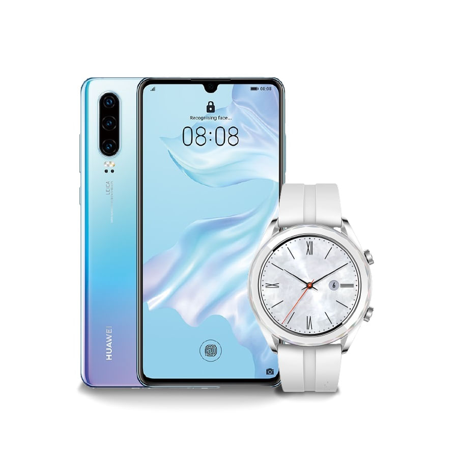 Celular-HUAWEI-P30---Breathing-Crystal----Watch--GT-Elegant-White---128-GB