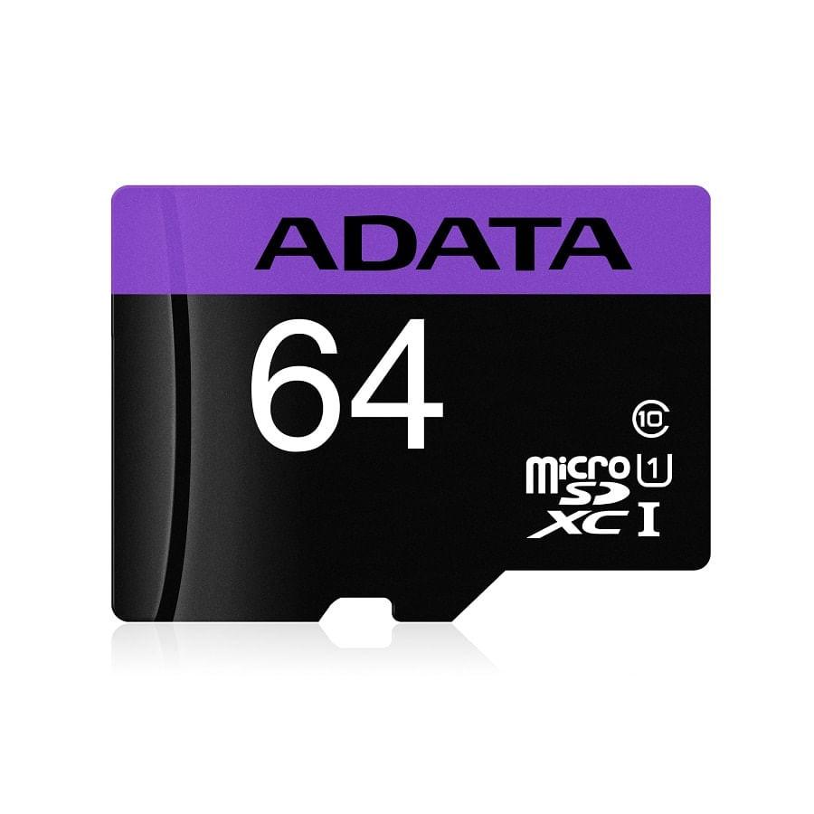 Micro-SD-ADATA-64GB---Clase-10