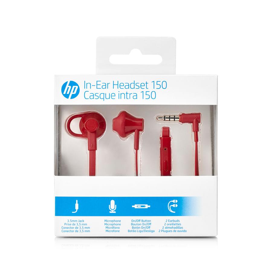Auricular-HP-150---Rojo