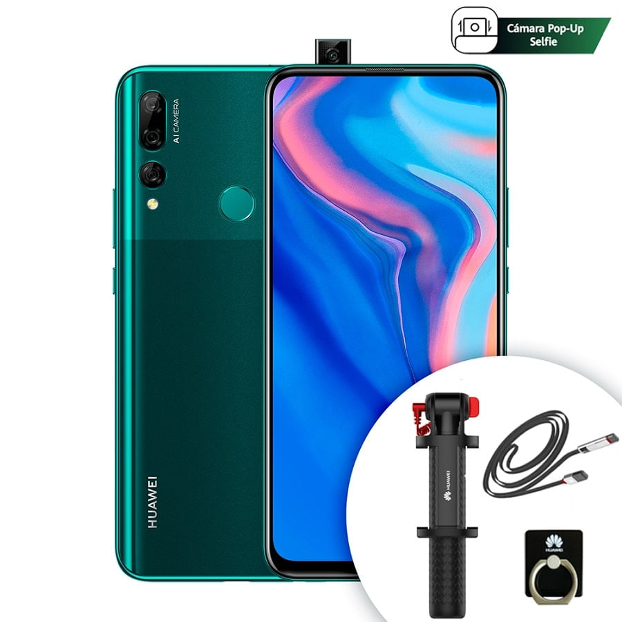 Celular-HUAWEI-Y9-2019-PRIME-128GB---Accesorios---Green