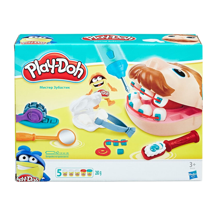 PLAY-DOH--Dentista-Bromista