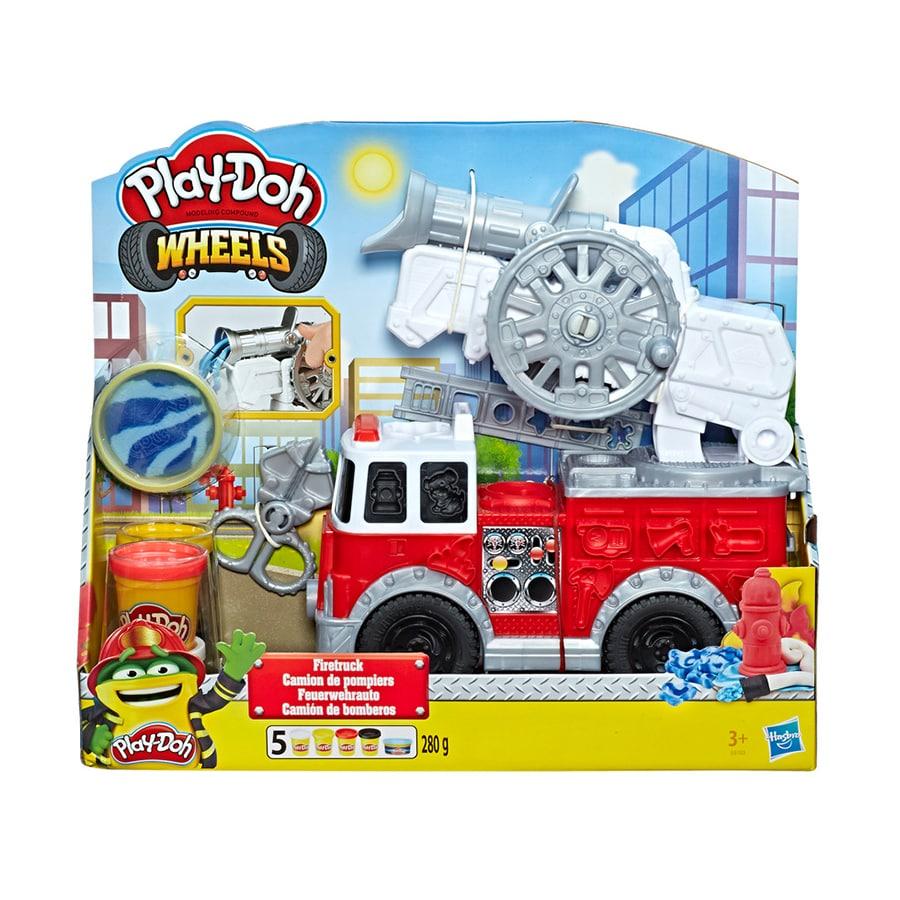 PLAY-DOH-Wheels-Camion-De-Bomberos