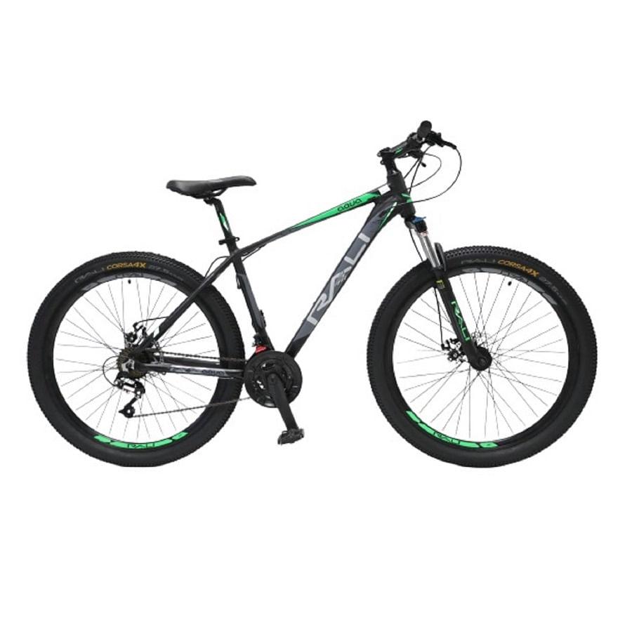 Bicicleta-RALI---AQUA-275----Hombre---Negro-Verde