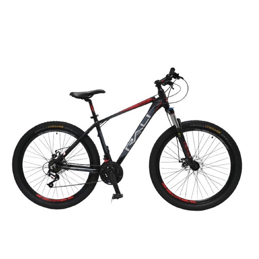 Bicicleta-RALI---AQUA-275----Hombre---Negro-Rojo
