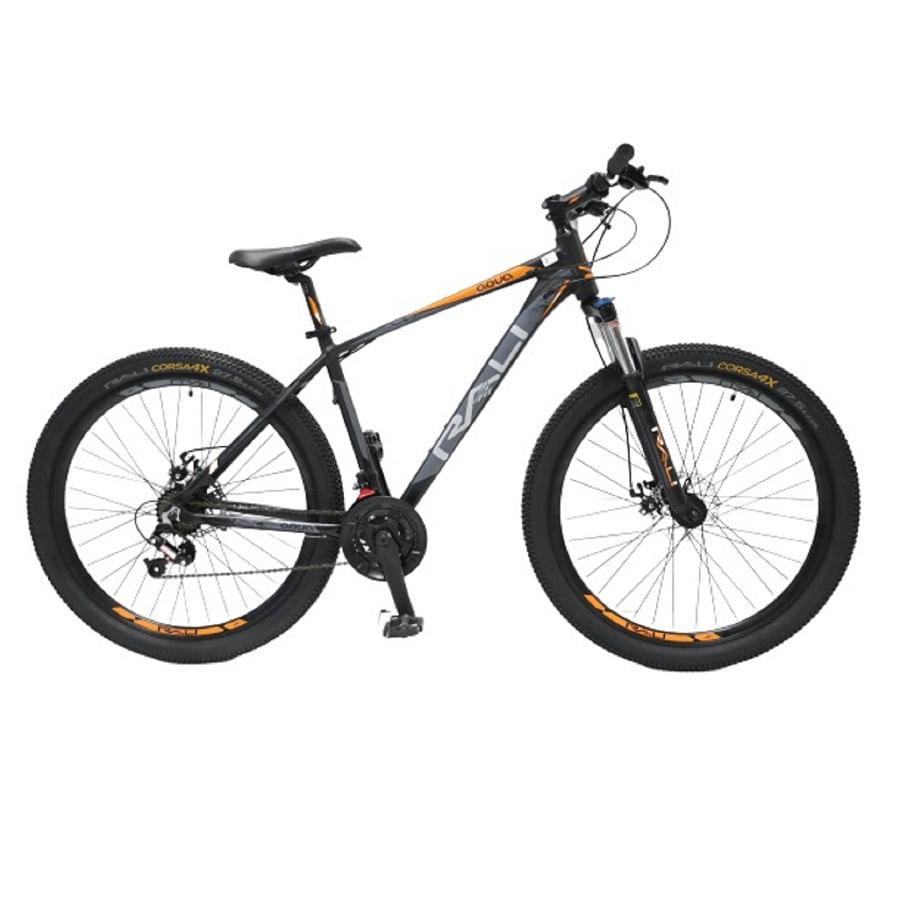 Bicicleta-RALI---AQUA-29----Hombre---Negro-Naranja