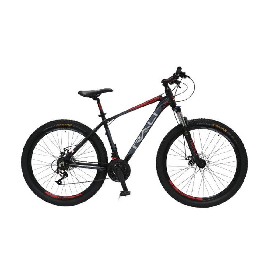 Bicicleta-RALI---AQUA-29----Hombre---Negro-Rojo