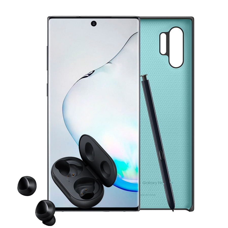 Celular-SAMSUNG-Galaxy-Note-10---256GB---Black---CASE---BUDS