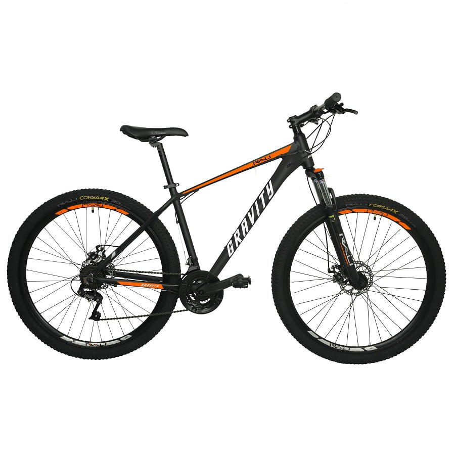 Bicicleta-RALI-GRAVITY-275--Hombre--NEGRO-NARANJA