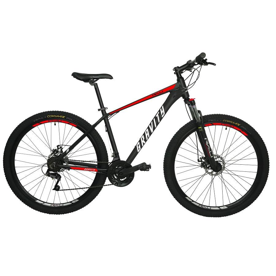 Bicicleta-RALI-GRAVITY-275--Hombre--NEGRO-ROJO