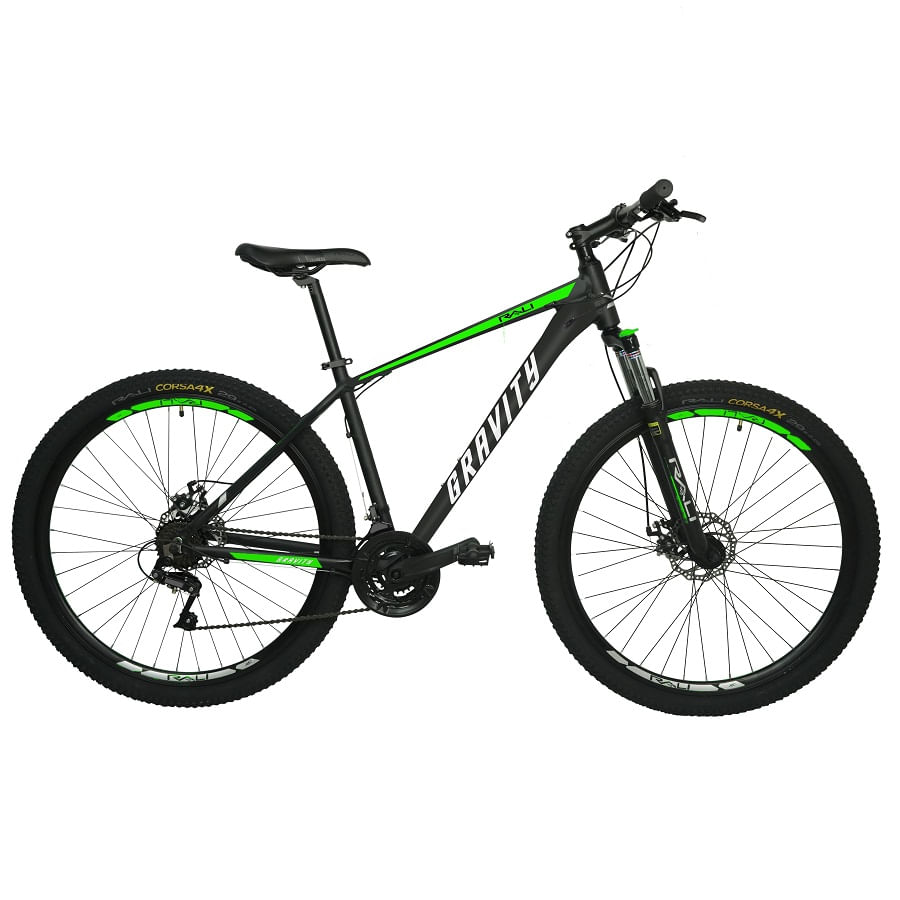 Bicicleta-RALI-GRAVITY-29--Hombre--NEGRO-VERDE