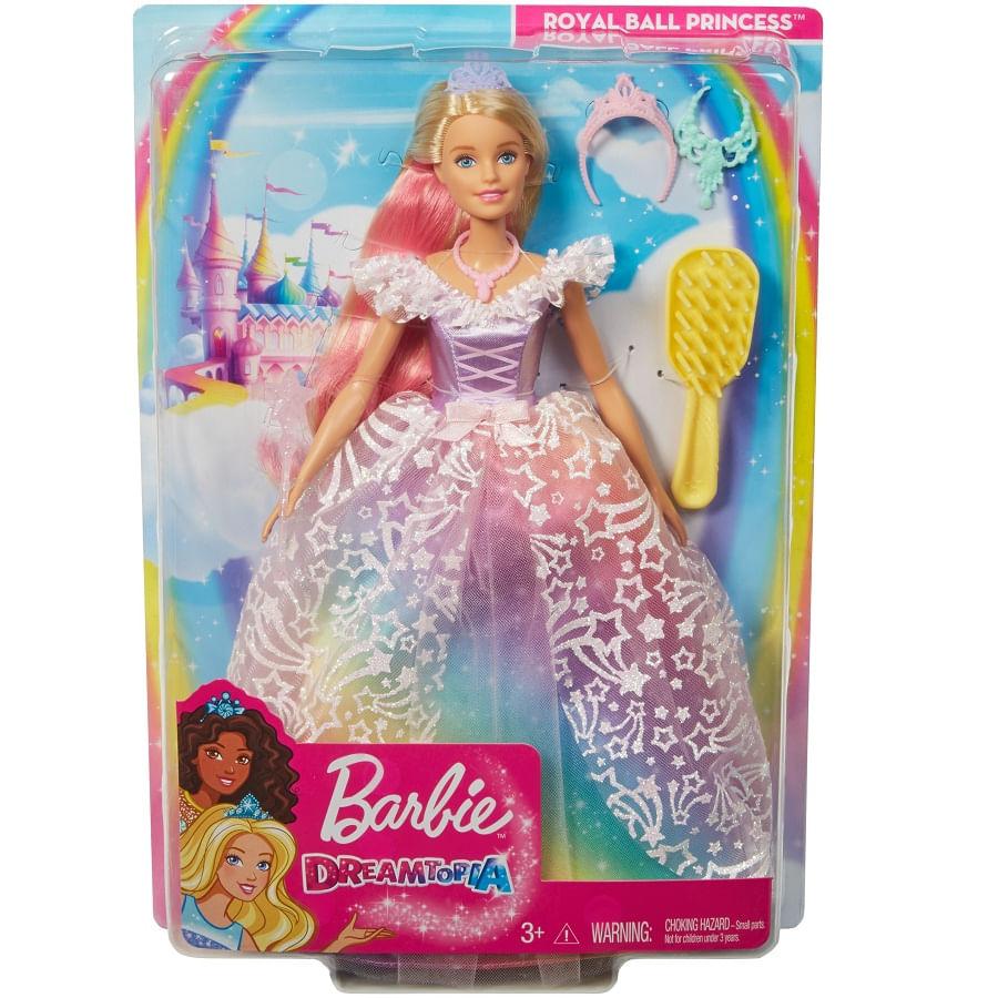 Barbie-Princesa-Vestido