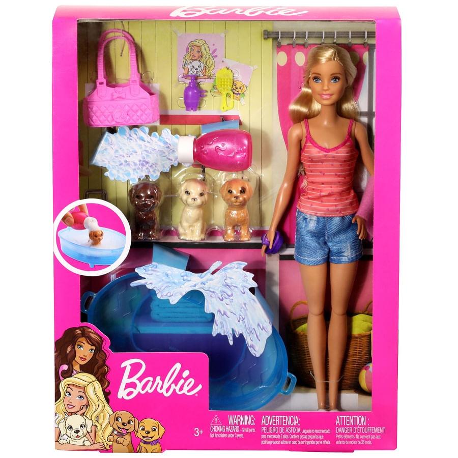 Barbie-Cuidado-De-Cachorritos