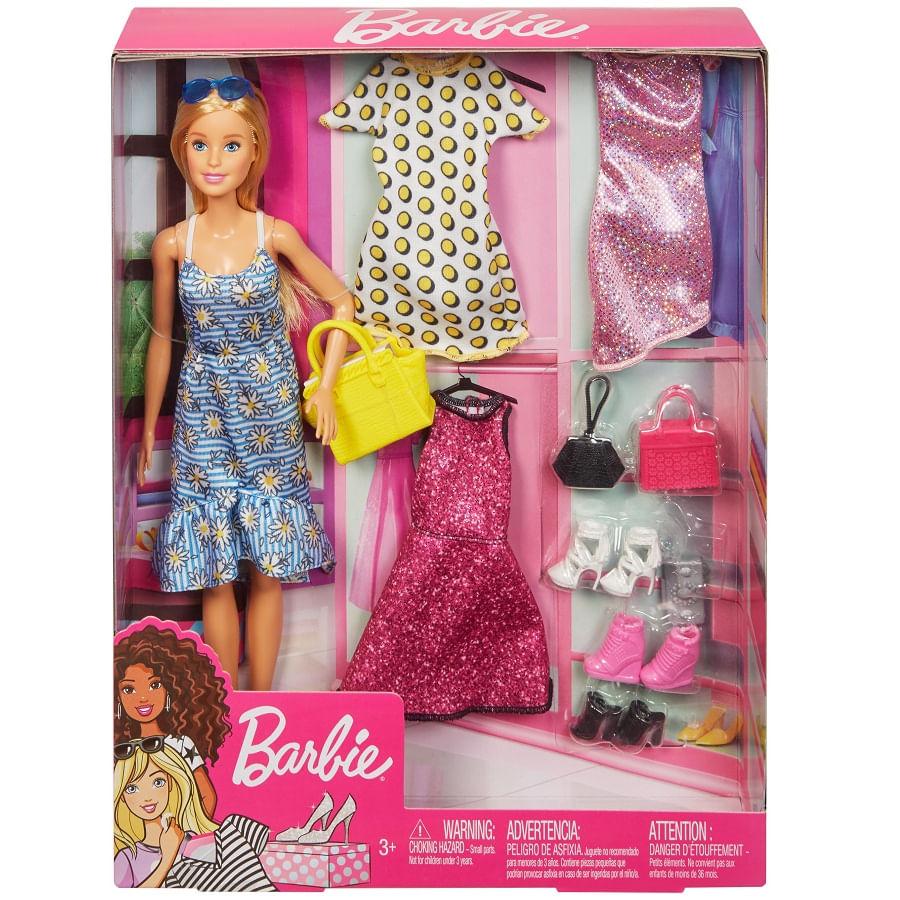 Barbie-Muñeca-Y-Moditas