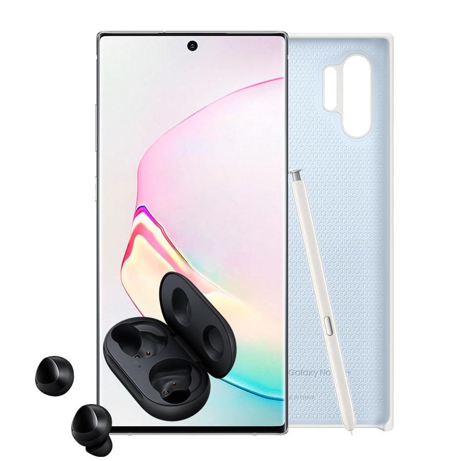 Celular-SAMSUNG-Galaxy-Note-10----256GB---White---CASE---BUDS