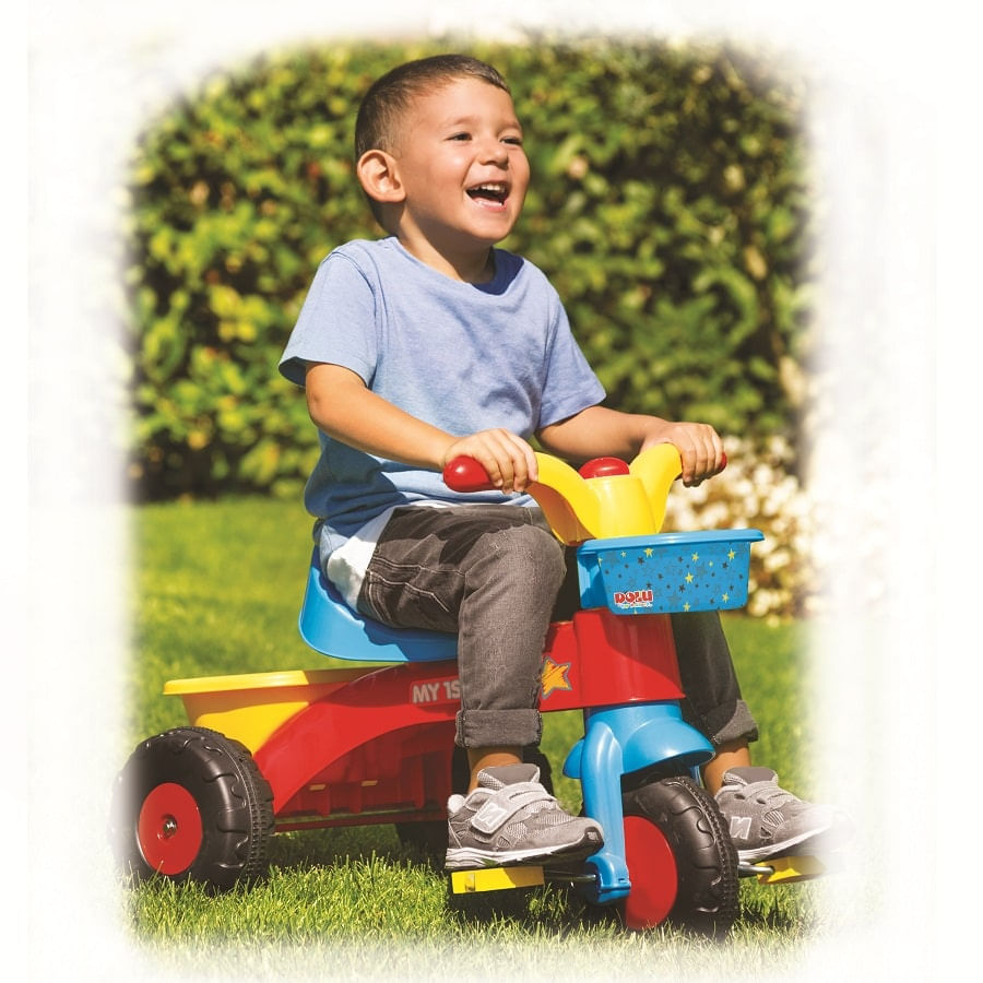 Triciclo-DOLU-Toys---Multicolor