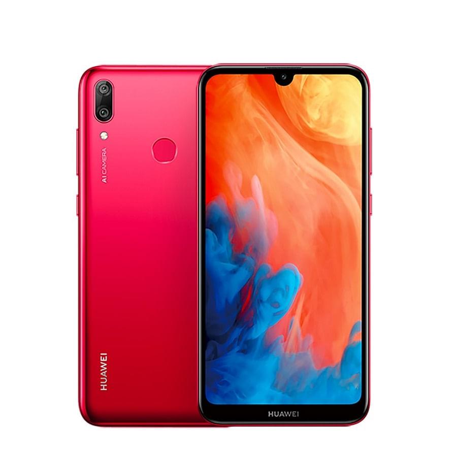 Celular--HUAWEI-Y7-2019---Coral-Red