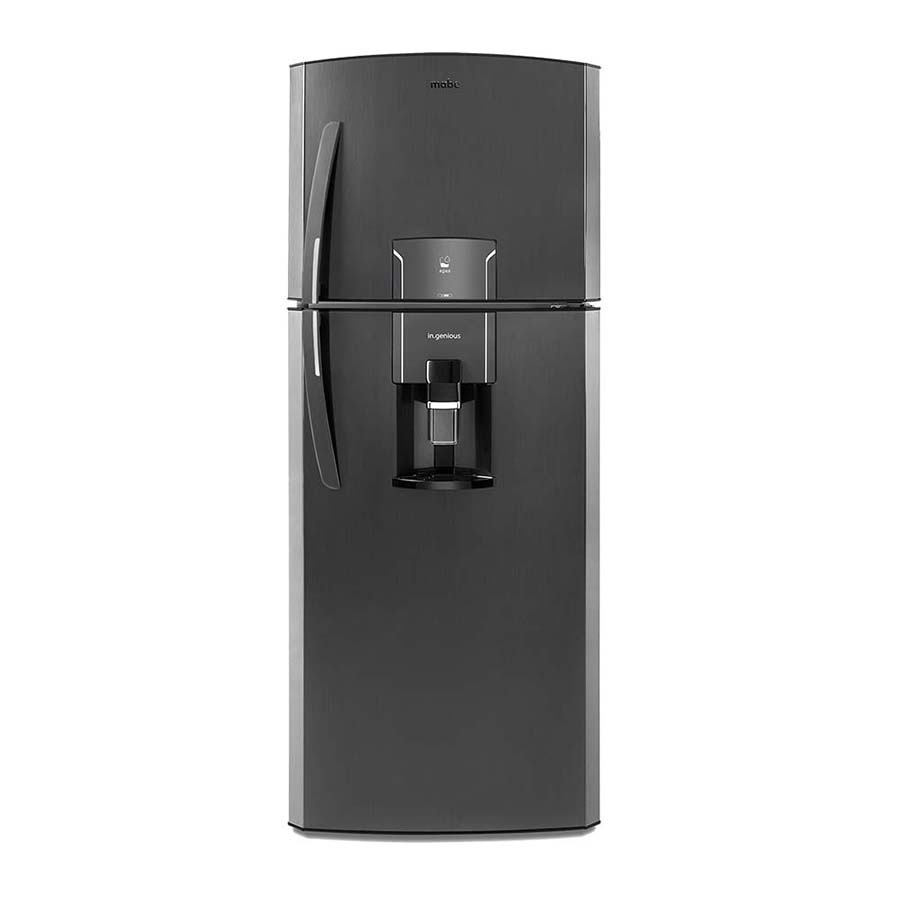 Nevera-No-Frost-MABE---400Litros---Black-Stainless-Steel---RMP400FYCC