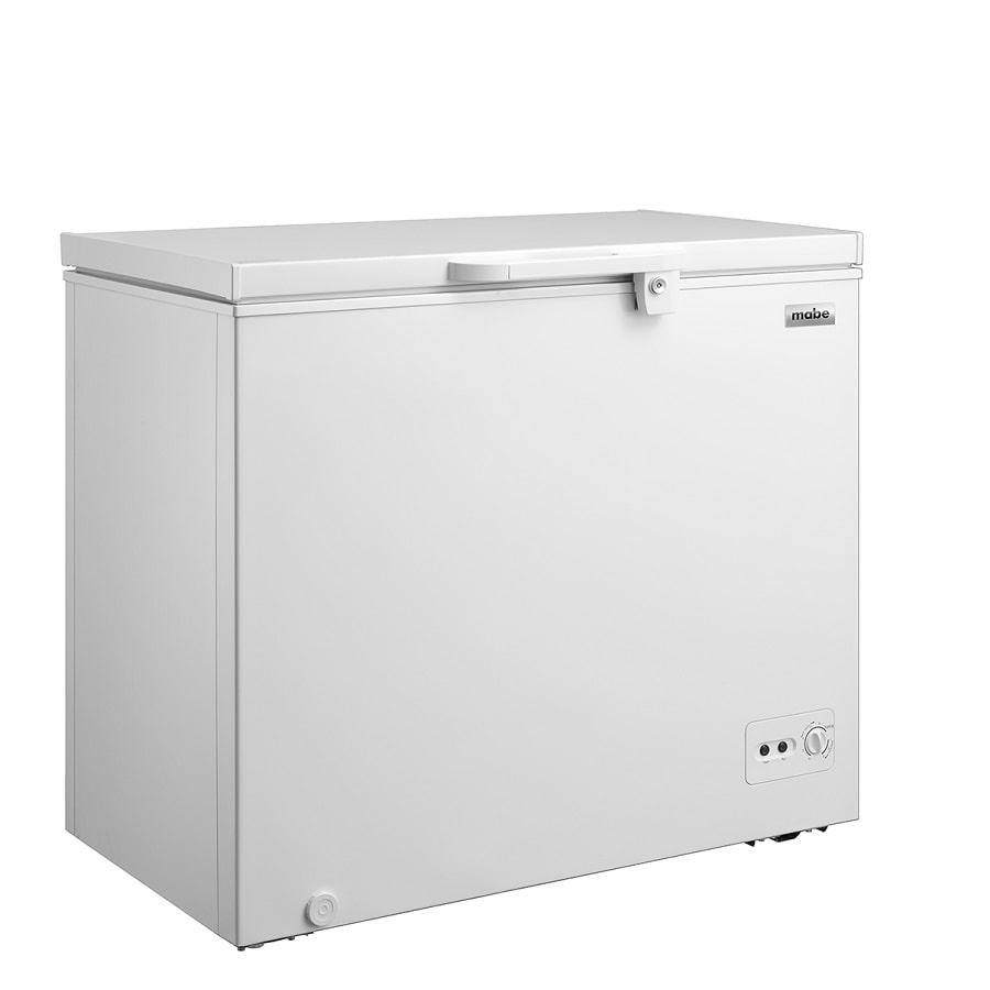 Congelador-Horizontal-MABE--145-Lts-Brutos-Blanco---ALASKA145B3